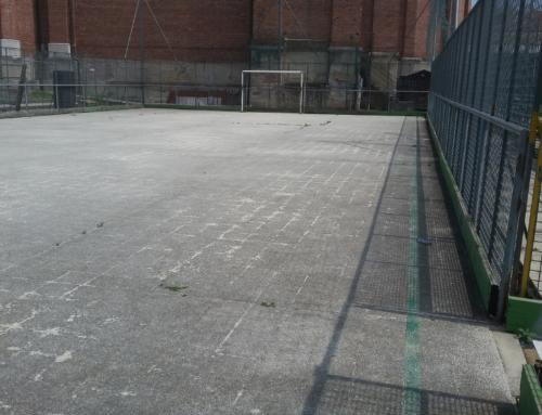 Campo in cemento